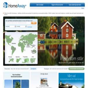 HomeAway.se - Semesterbostäder