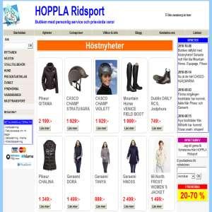 HOPPLA Ridsport