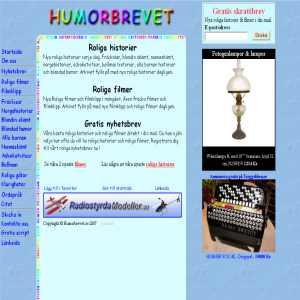 Humorbrevet.se - Roliga historier & filmer