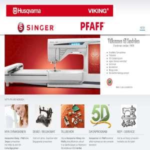 Husqvarna Viking Symaskiner i Sandviken