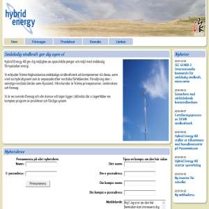 Små vindkraftverk - Småskalig vindkraft