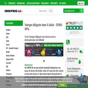 INKPRO - Sveriges största urval av skrivarpatroner och tillbehör