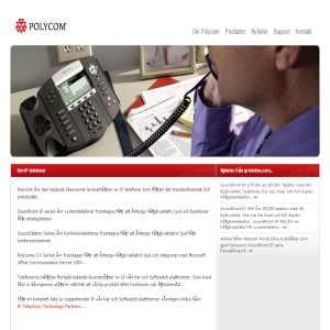 IP Telefoni Soundpoint Polycom