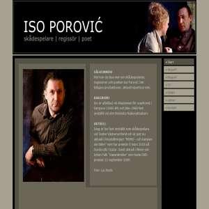 iso Porovic - skådespelare, regissör, poet