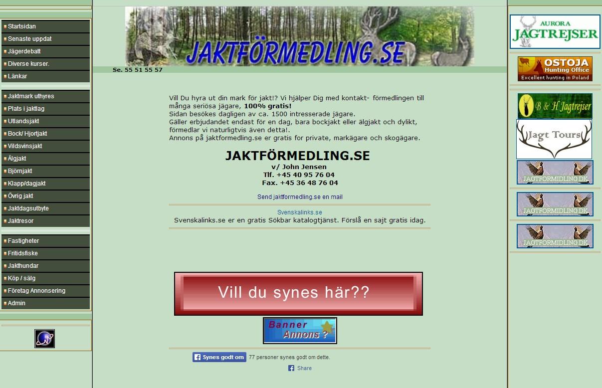 Jaktformedling.se
