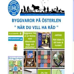 Byggvaror på Österlen - JHL - för dej med hus, trädgård och företag