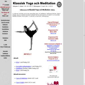 Klassisk Yoga och Meditation