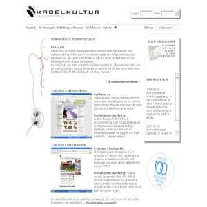 Kabelkultur webbdesign & webbutveckling