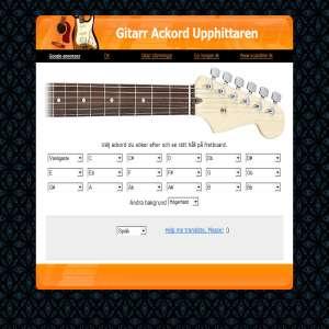 Gitarr Ackord Upphittaren