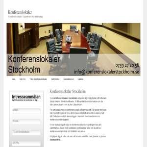 Konferenslokaler Stockholm