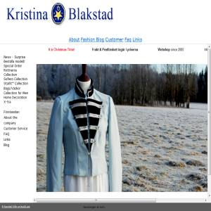 Kristina Blakstad Fashion