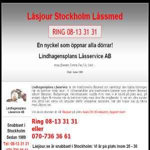 Låsjour Stockholm Låssmed