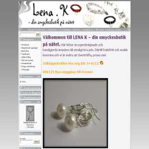 Lena K - smyckedesign och försäljning