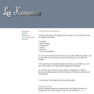 Lex Kompetens
