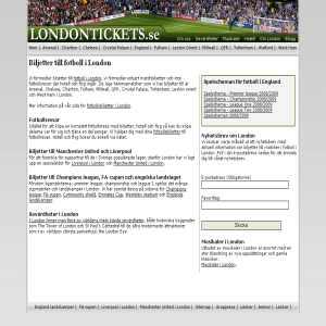 Londontickets.se