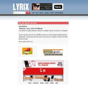 lyrix.se