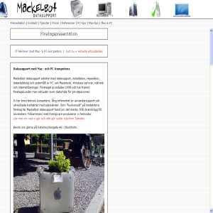 Mackelbot datasupport