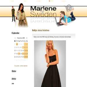 Marlene of Sweden - vackra smycken