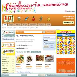 Matklubben.se - Sveriges största matcommunity