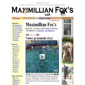 Kennel Maximillian Fox