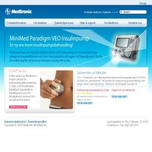 Trådlös Blodsockermätning med Avancerad Insulinpump - Medtronic SE