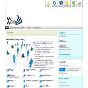 Mework.se är mötesplatsen för företag, entreprenörer och driftiga människor