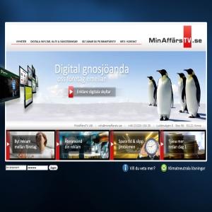 Digitala skyltar - MinAffärsTV AB