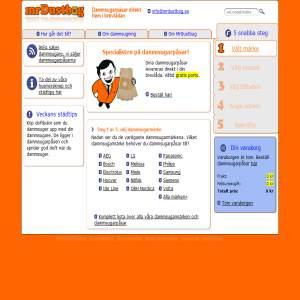 mrDustbag.se - dammsugarpåsar på Internet