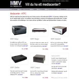 Multimediavision - Mediacenter
