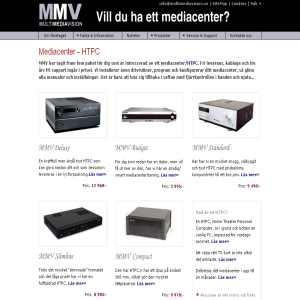 Multimediavision - Mediacenter