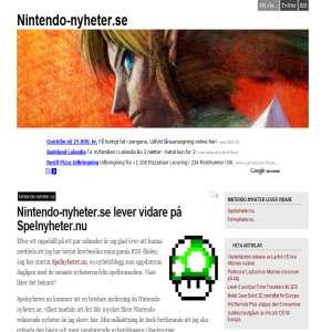 Nintendo-nyheter.se