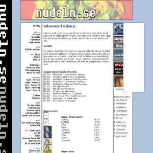 nudeln.se - En sida om Nudeln