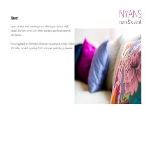Nyans - Rum & Event