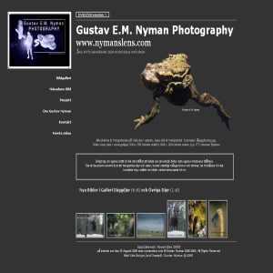 Gustav E. M. Nyman Photography