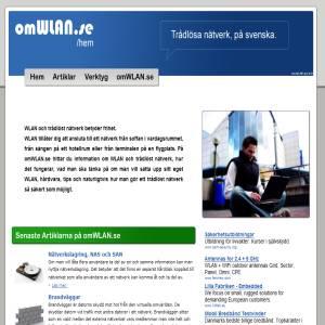 Gör ditt hem Trådlöst med omWLAN.se