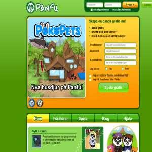 Panfu - en virtuell värld för barn
