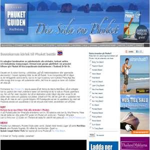Phuket Guiden - Thailand