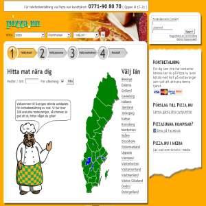 Pizza.nu - Sveriges Största Pizzasajt