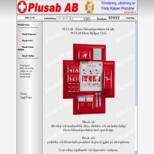 Första Hjälpen Produkter & HLR Utbildning | Plusab AB
