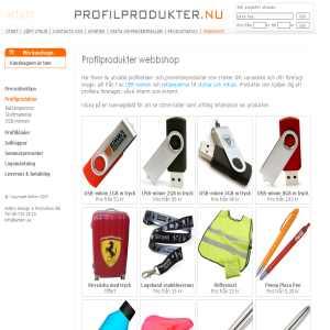 Profilprodukter.nu - profilreklam & promotionartiklar