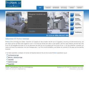 All service inom bygg renovering & badrumsrenovering - ProHem.se