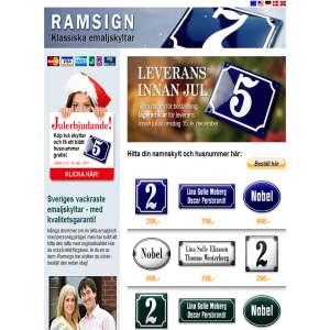 Ramsign.se - Klassiska emaljerade skyltar