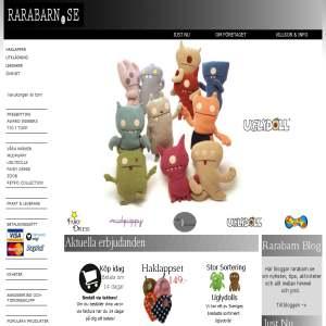 Rarabarn.se - Leksaker på nätet