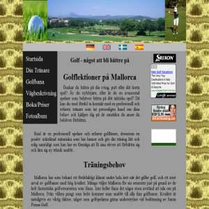 Golf lektioner p� Mallorca