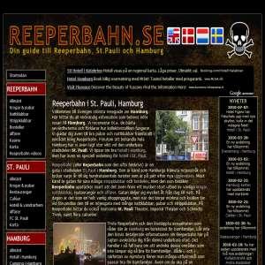 Reeperbahn i Hamburg