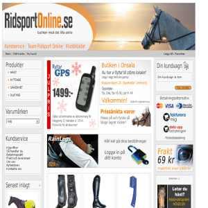 Ridsport Online - Butiken med det lilla extra!