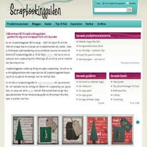 Scrapbookingguiden.se - Scrapbooking tips, inspiration, artiklar och guider