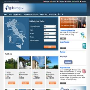 Fastighet i Italien