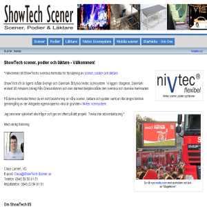 ShowTech Scener