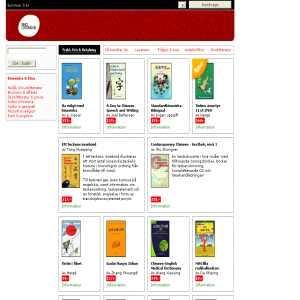 Sinolitteratur - den kinesiska bokhandeln
